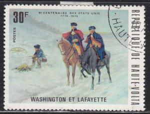 Burkina Faso 365 Washington and Lafayette 1975