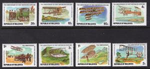 MALDIVE ISLANDS SCOTT 719-727