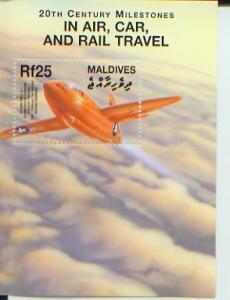 Transportation Milestones, 20th Century, S/S 1, MALD2500