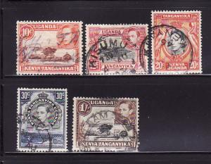 Kenya, Uganda, Tanzania 69, 72, 74, 76, 80 U King George VI