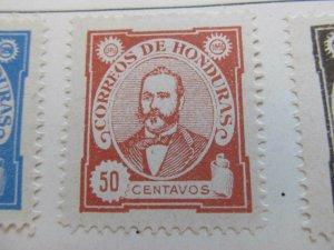 Honduras 1896 50c fine mng stamp A11P12F42