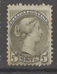 COLLECTION LOT # 3191 CANADA #38 1876 CV=$27.50