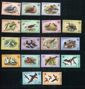 Kiribati #384-99 (no 392a) MNH  - Make Me A Reasonable Offer