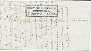 C) Carta al Regente de la Suprema Corte de Justicia y Negocios Eccos