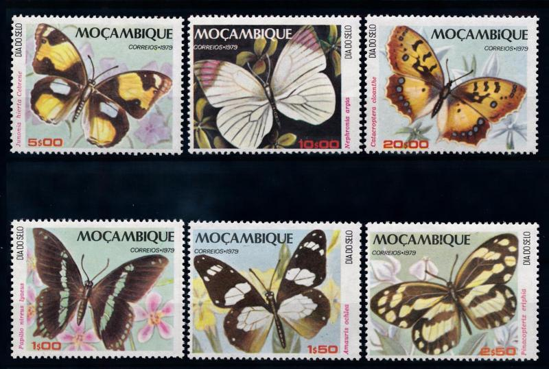 [70406] Mozambique 1979 Insects Butterflies  MNH