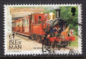 Isle of Man 358D Train Used VF