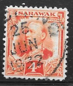 Sarawak 97: 4c Sir Charles Vyner Brooke, used, F-VF