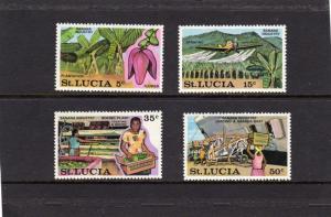 St Lucia 1973 Banana Industry MNH