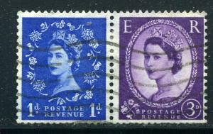 Great Britain - Elizabeth II - Scott #354-358 pair - Used