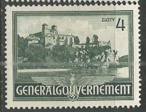 Poland (General Government)    Scott # N75 - MH