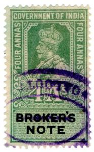 (I.B) India Revenue : Broker's Note 4a