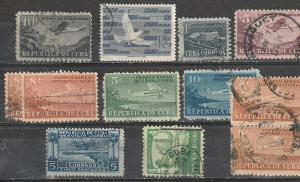 Cuba Used Air Mail Lot #2