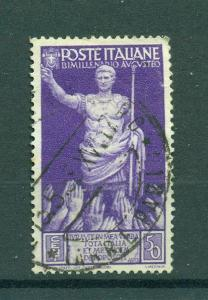 Italy sc# 382 (2) used cat value $.40