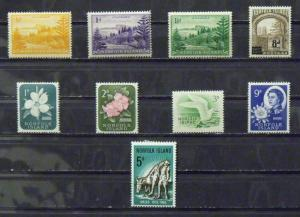 2781   Norfolk Isl   MH, VF   # 1, 2, 3, 22, 29-31, 34, 69         CV$ 5.90
