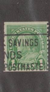 U.S. #597 Used