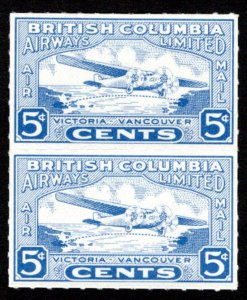CL44 & CL44i, Canada, Vertical Pair, British Columbia Airways Limited, 5c