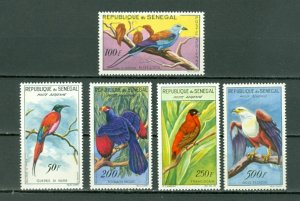SENEGAL AIR BIRDS #C26-30...SET...MNH...$50.00