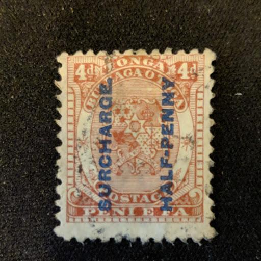 Tonga 21 F-VF, CV $8