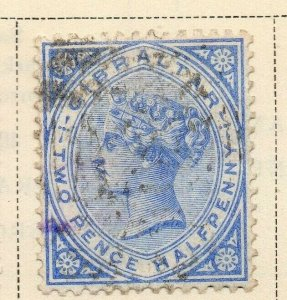 Gibraltar 1886 Early Issue Fine Used 2.5d. 326905