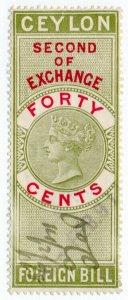 (I.B) Ceylon Revenue : Foreign Bill 40c (Second)