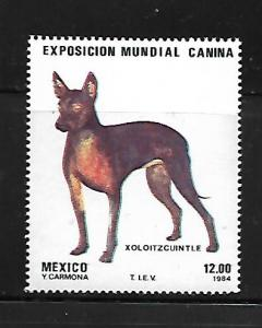 MEXICO, 1348, MNH, WORLD DOG EXPOSITION