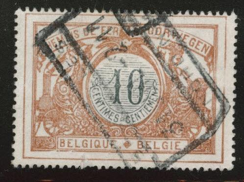 Belgium Parcel Post Scott Q29 Used 1902