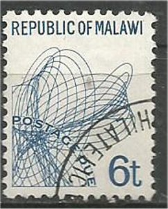 MALAWI 1998 used 6t POSTAGE DUE Scott J9