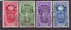 J16966 JLstamps 1934 italy used #310-3 cross in halo