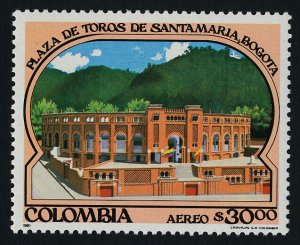 Colombia C706 MNH Architecture, Santamaria Bull Ring