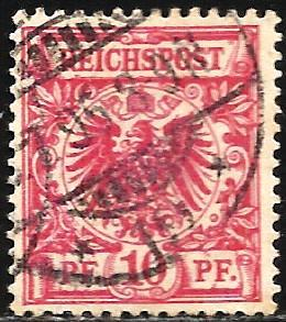 Germany 1889 Scott# 48 Used