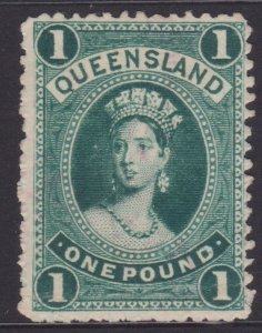 Queensland Sc#83 Used - fiscal cancel, cleaned