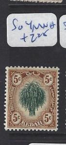 MALAYA KEDAH  (P0707B)  LEAF 5C    SG  4   MNH