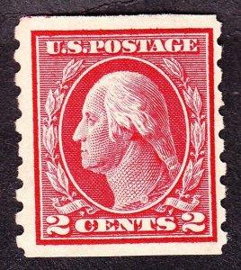 US 413 2c Washington Mint F-VF OG NH SCV $130