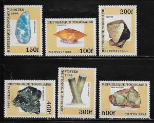 Togo 1856-61 Minerals Mint NH