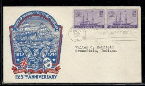US #923-6 First Steamship Staehle cachet addressed