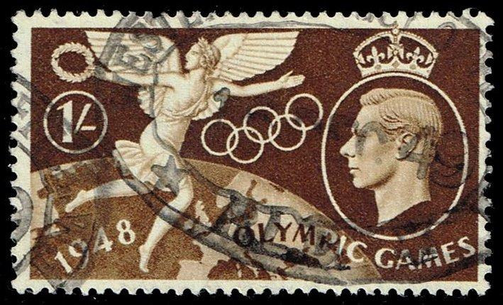 Great Britain #274 Olympic Games; Used (1.50)