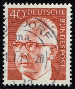 Germany #1032 Gustav Heinemann; Used (0.25)