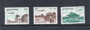 Korea 1964 C32-C34 set MH