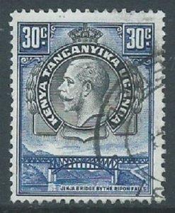 Kenya, Uganda & Tanganyika, Sc #51, 30c Used