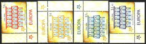 Fiji. 2005. 1109-12. 50 years of europe-sept. MNH.