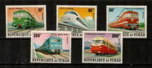 Chad Scott 256A-E Mint NH (Catalog Value $20.00) - Trains