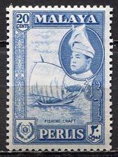 Malaya Perlis; 1957: Sc. # 35; **/MNH Single Stamp