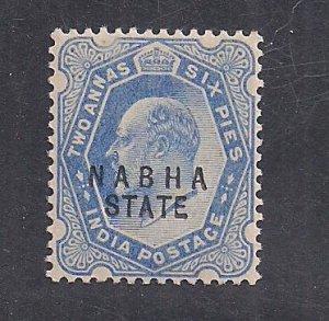 INDIA - NABHA  SC# 30A    FVF/MNH