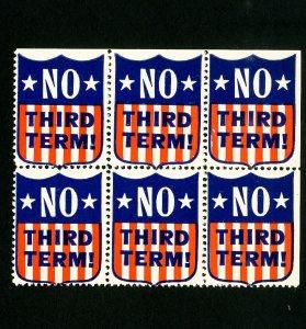 US Stamps Block 6 no third term label