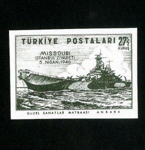 Turkey Stamps # 942 XF Imperforate OG NH