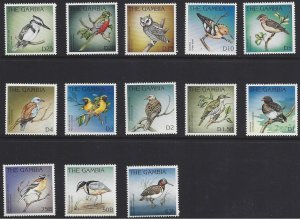 Gambia #1826-38 MNH , various birds, issued 1996