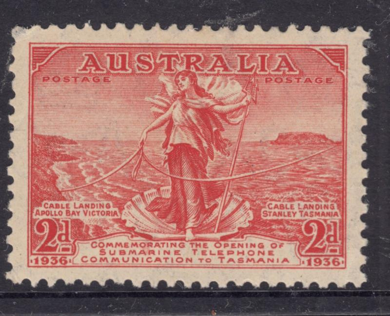 AUSTRALIA 1936 2d Cable Mint Never Hinged