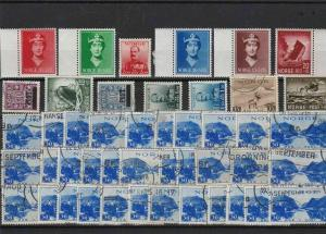 norway stamps ref 16087