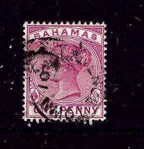 Bahamas 27 Used 1884 issue    #2