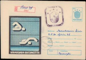 Romania, Postal Stationery, Sports